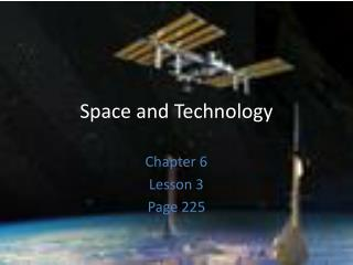 Space and Technology
