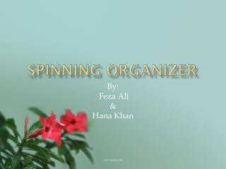 Spinning Organizer
