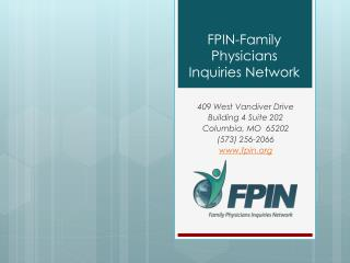 FPIN-Family Physicians Inquiries Network
