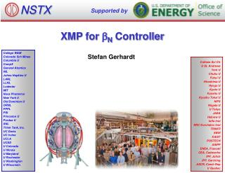 XMP for  b N  Controller