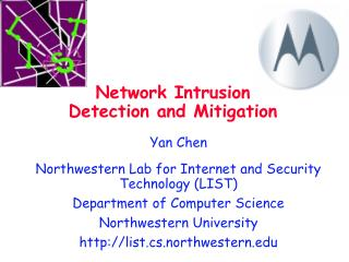 Network Intrusion Detection and Mitigation
