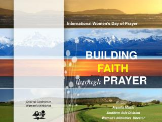 BUILDING FAITH  through PRAYER