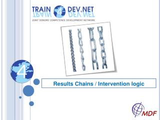 Results Chains / Intervention logic