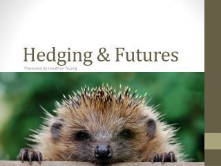 Hedging & Futures