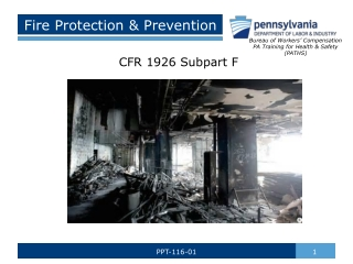 Fire Detection  Protection Systems
