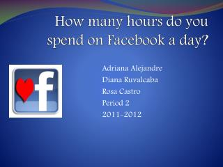 How many hours do you spend on Facebook a day?