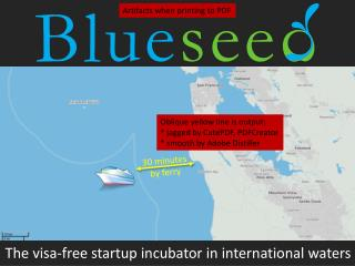 The visa-free startup incubator in international waters