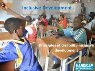 Inclusive  Develop ment