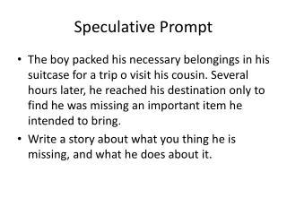 Speculative Prompt