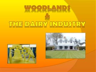 Woodlands & The dairy industry
