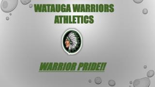 WATAUGA WARRIORS ATHLETICS