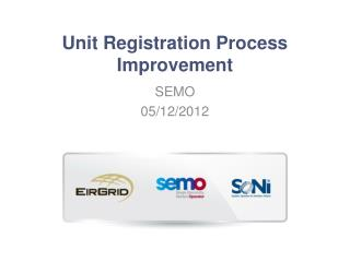 Unit Registration Process Improvement