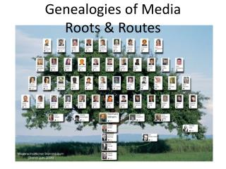 Genealogies of Media  Roots & Routes