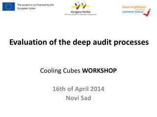 Evaluation  of  the deep  audit  processes