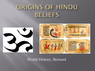 Origins of Hindu Beliefs