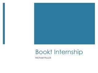 Bookt  Internship
