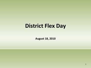 District Flex Day