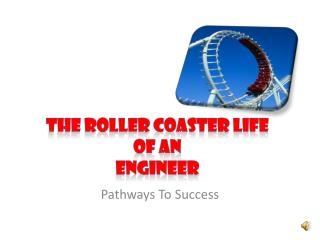 The Roller Coaster Life  of an Engineer