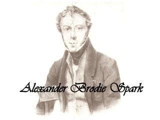 Alexander  Brodie Spark