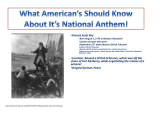 What American's Should  Know About It's National Anthem!