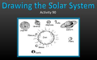 Drawing the Solar System