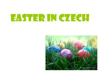 Easter in Czech