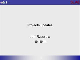 Projects  updates