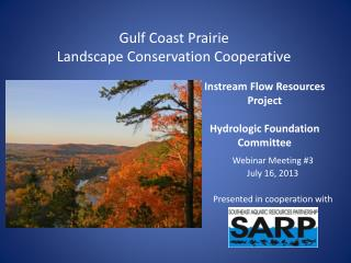 Instream Flow Resources Project Hydrologic Foundation Committee