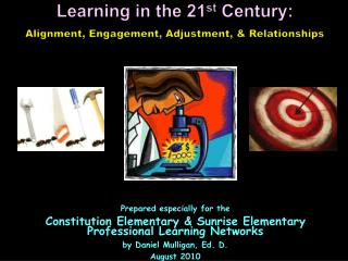 Learning in the 21 st  Century: Alignment, Engagement, Adjustment, & Relationships