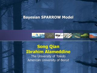 Bayesian SPARROW Model