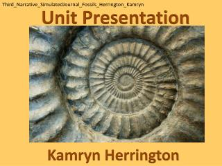 Unit Presentation