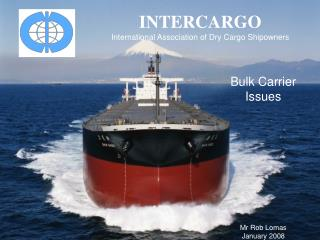 INTERCARGO International Association of Dry Cargo Shipowners