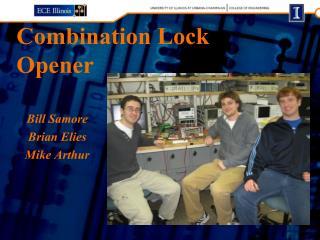 Combination Lock Opener