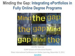 Jennifer Sparrow CUNY School of Professional Studies