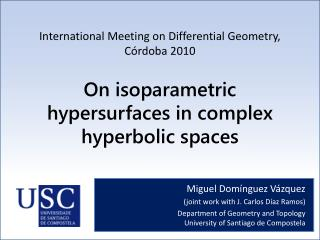On isoparametric hypersurfaces in complex hyperbolic spaces