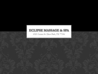Eclipse massage & spa