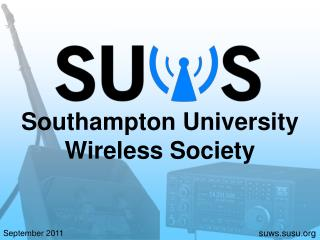 Southampton University Wireless Society