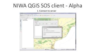 NIWA QGIS SOS client - Alpha