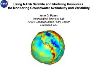 Using NASA Satellite and Modeling Resources