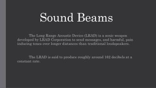 Sound Beams