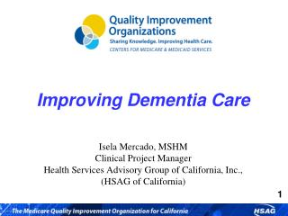 Improving Dementia Care
