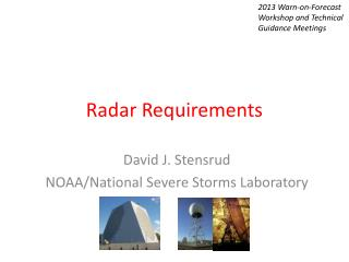 Radar Requirements