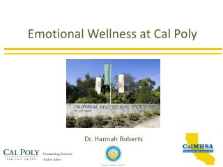 Emotional Wellness at Cal Poly