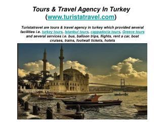Tours & Travel Agency in Turkey