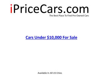 Cars Under $10,000 in USA