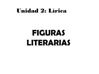 Unidad 2: L�rica