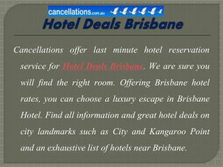 Top Trending Hotels Deals in Australia