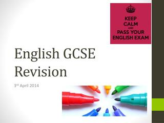 English GCSE Revision