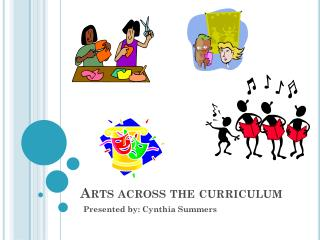 Arts across the curriculum