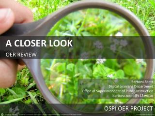 OER REVIEW